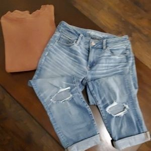 American Eagle straight crop